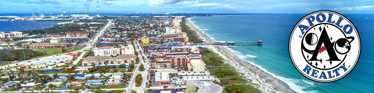 Cocoa Beach Aerial view